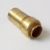 Brass Push Fit 22mm Fitting Reducer to 15mm Pipe - 27062215